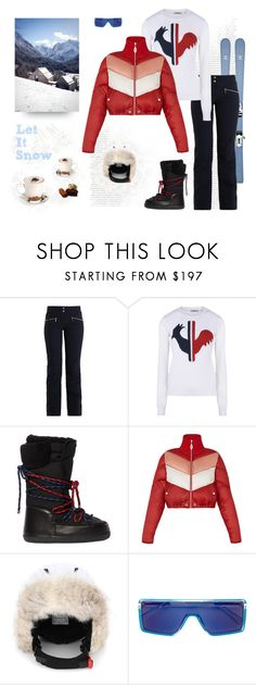 """""""Let It Snow"""" by shoptillyadrop ❤ liked on Polyvore featuring Chanel, Toni Sailer, Rossignol, Dsquared2 and Perfect Moment"""