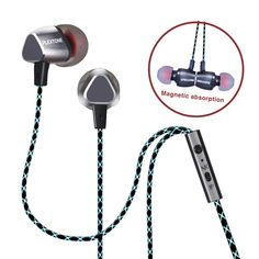 PLEXTONE X36m Metal Magnetic Adsorption Wired Control In-ear Headphone Earphone With Mic