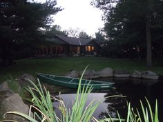 large Earthen pond