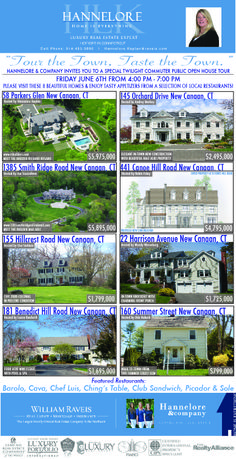 d3fc9c48c13 Special Twilight Public Open House with food from 10 local New Canaan  restaurants