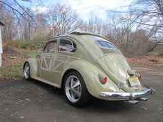 1957 Euro VW Beetle Oval Window Ragtop For Sale @ Oldbug.com