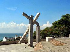 Memorial da Cruz Caída em Salvador Bahia.