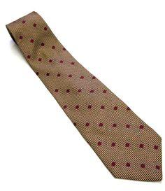 Vintage 1980's Taupe Maroon Geometric Power Tie by sweetie2sweetie, $14.99