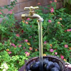 DIY Magic Faucet Fountain
