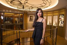 Elodie Yung at the Jaeger-LeCoultre Place Vendôme Boutique Elodie Yung ba0ea7f50f9