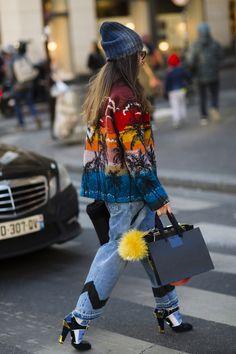 The best street looks of Paris fashion week