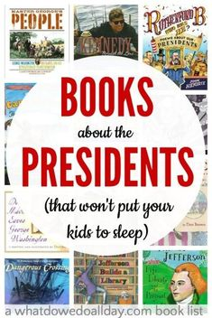 14 president books for kids that are actually interesting.