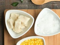 Make body lotion yourself from natural products coconut butter, beeswax, shea butter 12 Recipe, Handmade Cosmetics, Homemade Soap Recipes, Health Breakfast, Vegan Beauty, Natural Cosmetics, Body Lotion, Diy Beauty, Body Care