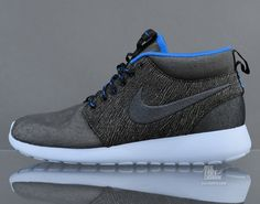 Nike Roshe Run Mid QS Anthracite Blue