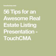 10 fantastic listing presentation examples for real estate agents, Presentation templates