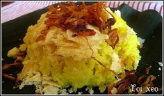 Xôi xéo-sticky rice with bean