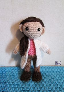 This pattern is available as a free Ravelry download Molly Hooper from BBC's Sherlock. She's about 13 cm tall (made with 3.0 mm hook). Free. Thank You!