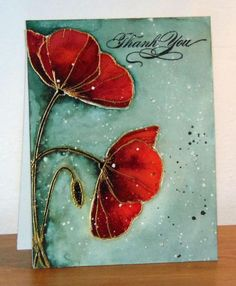 Poppy Time by Micheline Jourdain - Cards and Paper Crafts at Splitcoaststampers