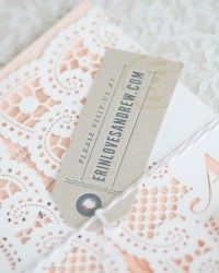 Erin + Andrew's Ombre Watercolor and Letterpress Wedding Invitations