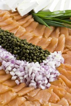Whether it's for brunch, lunch, or an evening affair, make a big impression with little effort. Best served with pumpernickel or rye crostini. Smoked Salmon Appetizer, Fresh Dill, Rye, Allrecipes, Cooking Tips, Affair, Effort, Seafood, Brunch