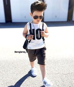 If you have been attempting to find baby boy swag, have a look below. Fashion Kids, Toddler Boy Fashion, Little Boy Fashion, Toddler Boy Outfits, Style Fashion, Outfits Niños, Style Outfits, Kids Outfits, Baby Boy Dress