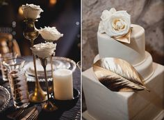 For the more demure bride....this alluring old hollywood wedding inspiration shoot! Take a look :)