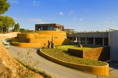 Wine cellar,Winery,Bodegas Torres, spain,http://bcarquitectos.com/wineries/waltraud-cellar-for-bodegas-torres-spain/