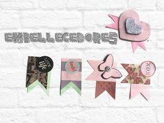 Como decorar tu SCRAPBOOK | DIY: Embellecedores | Maffy - YouTube