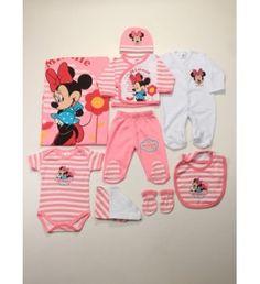 Disney 10'lu Minnie Mouse Kız Bebek Hastane Çıkışı