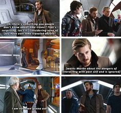 """""""There's something you people don't know about time travel"""" - Rip, Ray, Leonard and Stein #LegendsOfTomorrow"""