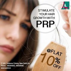 Now hair loss is a worry of past. Get your hair back with PRP therapy and that too at flat 10% off. Visit our website www.laskin.in to know more about our amazing offers on various services! Call 46594950, 49059090 to book your appointment. #LASkin #Aesthetic #Clinic #PRP #HairLoss #Therapy