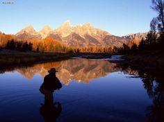Fly Fishing (Snake River - Wyoming)
