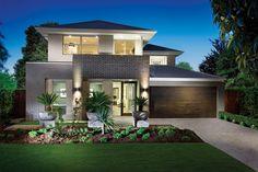 Brick facade idea
