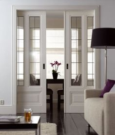 high pocket doors