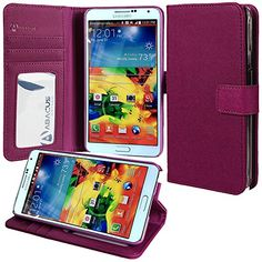 Note 4 Case, Abacus24-7 Galaxy Note 4 Wallet Case [Book Fold] Leather Note 4 Cover [Flip Cover] with Foldable Stand, Pockets for ID, Credit Cards - Purple Flip Case for Samsung Note 4 Abacus24-7 http://www.amazon.com/dp/B00NGQSA9S/ref=cm_sw_r_pi_dp_a0irub0GRR6RP