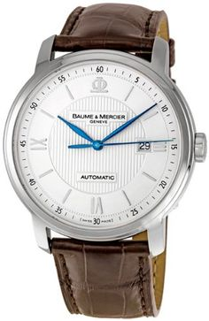 Baume and Mercier Classima Executives Mens Watch 8731 - Jacob Loves Watches Amazing Watches, Best Watches For Men, Luxury Watches For Men, Cheap Watches, Cool Watches, Best Watch Brands, Army Watches, Wrist Watches, Discount Watches