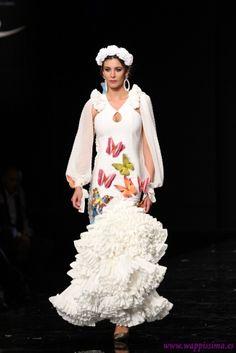 Traje de Flamenca - Ana-Moron - Simof-2015