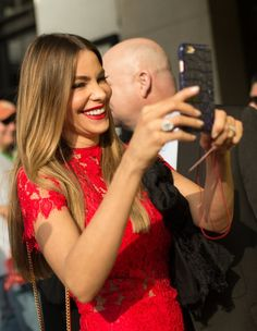 Pin for Later: Sofia Vergara and Joe Manganiello Cuddle Up on the Red Carpet at SXSW