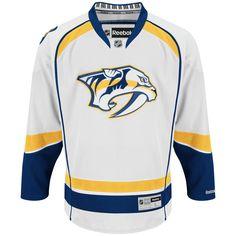 Nashville Predators Official Away Reebok Premier Replica NHL Hockey Jersey