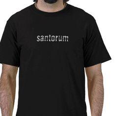 santorum tshirt
