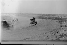 Australia's first car race, Sandown Racecourse, Victoria March 1904 (Algernon Darge)...