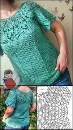 Crochet Bedspread Pattern, Knit Vest Pattern, Crochet Motif Patterns, Crochet Cushions, Crochet Stitches, Crochet Edgings, Shawl Patterns, Cross Stitches, Crochet Tank Tops