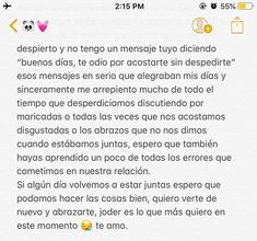 Amor Quotes, Bff Quotes, Love Quotes, Sad Texts, Love Phrases, Sad Love, Spanish Quotes, Love Messages, It Hurts