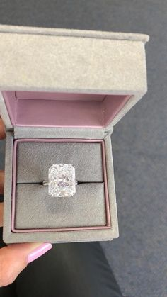 Check out this stunning 20 carat radiant cut diamond engagement ring by Miss Diamond Ring!  Enjoy 5 Star Engagement Ring Concierge service from one of the leading high jewelry industry experts in the world. Experience the new standard in 💍 ring shopping today. ✨Sparkle@Missdiamondring.com  #diamondring #diamondrings #engagementrings #engagementring #proposal #proposalstory #engagement #wedding #weddingproposal#20caratring #20carat #20carats #20caratengagementring #20caratdiamondring… Luxury Engagement Rings, Princess Cut Engagement Rings, Round Diamond Engagement Rings, Wedding Ring Bands, 20 Carat Diamond Ring, Diamond Rings, High Jewelry, Luxury Jewelry, Radiant Cut Diamond