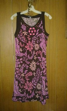 A. P. T stretch dress 4 woman with beads v pretty . Size . M F 4 $20.00 $20.00