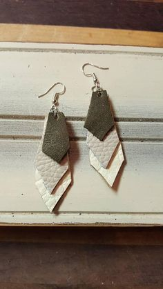 Check out this item in my Etsy shop https://www.etsy.com/listing/579112581/leather-earrings-elegant-leather-bar