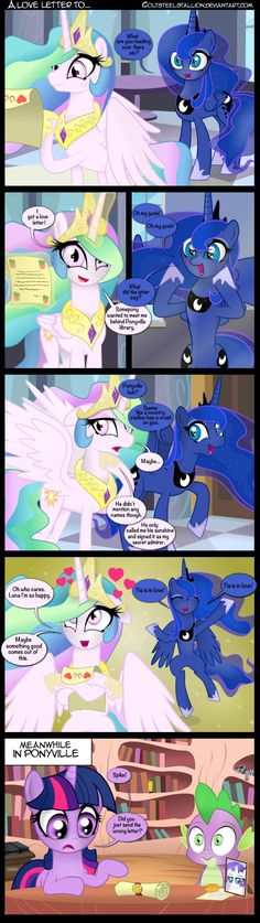 A love letter to... by Coltsteelstallion on DeviantArt