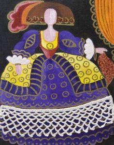 Pinzellades al món: 'Meninas' il·lustrades per Raquel de Bocos Easy Canvas Painting, Tole Painting, Various Artists, Illustrations, Artist Art, Creative Art, Art Girl, Art Dolls, Pop Art