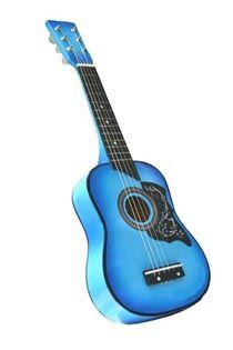 Kids Blue acousti guitar kit 25inch $10.95cost.jpg 210×315 pixels