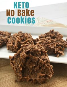 Keto No Bake Cookie Recipe