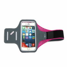"""DBigness® Smooth Touching Lycra Sports Armband Running Jogging Gym Exercise Case Cover for iPhone 6/6s Plus,Samsung Galaxy Note 5 S6 Edge+ S7 Edge Sweatproof Key Holder For Men Women(5.5"""" Rose Red). Perfect Fit: 4.7 inch armband (support mobile phone size below 5.0 inch) perfect fit iPhone 6/6s iPhone 5 / 5S / SE and Samsung Galaxy S7/S6/S6 Edge/S5/S4; 5.5 inch armband (support mobile phone size below 6.0 inch) perfect fit iPhone 6s Plus / iPhone 6 Plus, Samsung Galaxy Note 5 / S6 Edge…"""