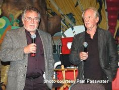 And here are Spin and Marty together again in mid 2011 at a Disney function...Spin/Tim Considine left and Marty/David Stollery. David would work a little longer with Disney after the Spin & Marty days, then went to college in industrial design and was a celebrated auto designer for Toyota.