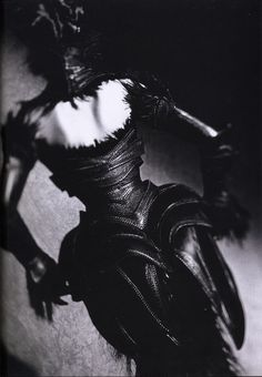 Mugler. I so love black and white photography.