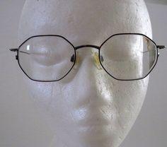 Vintage Octagon Shaped Eye Glasses