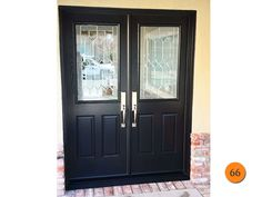 Image Result For Colonial Double Entry Doors, Black